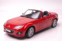 1:18 Diecast Model for Mazda MX 5 Red Roadstar Alloy Toy Car Miniature Collection Gift MX5 MX