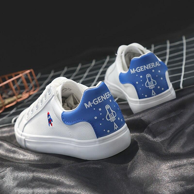 Dames Plat Mode Talon De red Femmes Broderie Doux Blanc 2018 Bleu Blue Chaussures Sport Marque Sneakers fqvBU