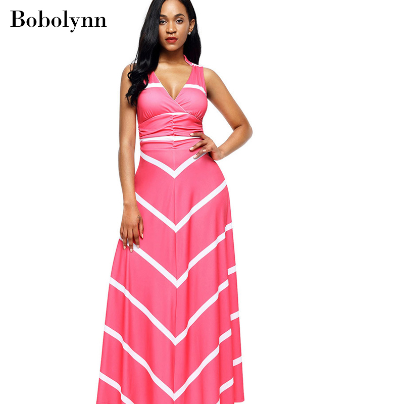 SexySummer Black and Pink Wrap Dress Noodles Elegant Long Dresses Streetwear Casual Vintage Clothing