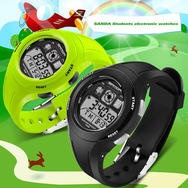 ce311da16d5 SANDA Brand Children Watches Kids Watches Sports Cartoon Casual Digital  Watch Boys Girl LED Smart Multifunction