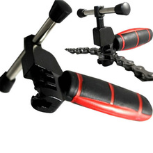 1pcs Mini Bicycle Bike Cycling Tools Steel Cut Chain Splitter Cutter Breaker Repair Tool Two Tone Grip For Comfortable Handling
