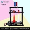 Formbot T-Rex 2 Grande Impressora 3D com 400x400x470mm Tamanho de Construção