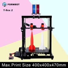 Formbot T-Rex 2 Large 3D Printer with 400x400x470mm Build Size