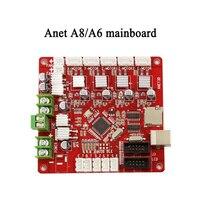 Anet A6 A8 3d printer controller parts MotherBoard Mainboard DIY Self Assembly Desktop Printer Prusa i3 Kit V1.0 RepRap Ramps1.4