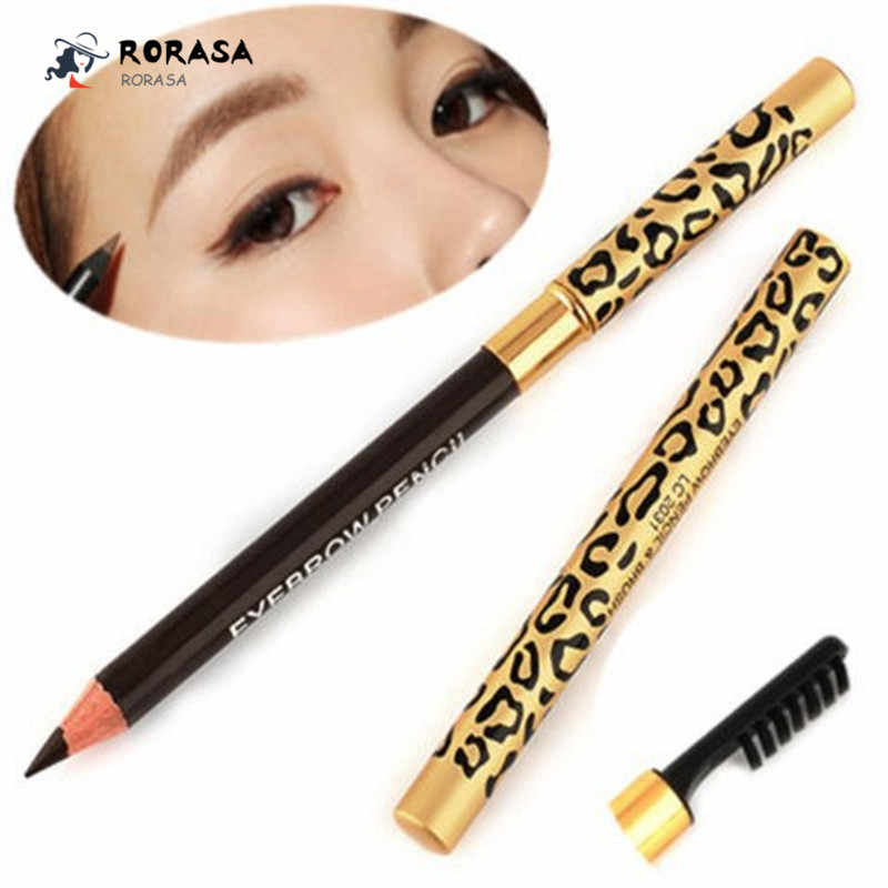 1 PCS Eyebrow Pencil Waterproof Long-lasting Eye Make Up Tool Eyebrow Pen with Brush Eye Brow Pencil Makeup Tools Maquiagem