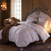 ÜBER 100% Gewaschen Ente Daunendecke Twin Königin King Size Luxus Schlafzimmer Dekor Dicker Wärmer Werfen Gesteppte Bettdecken