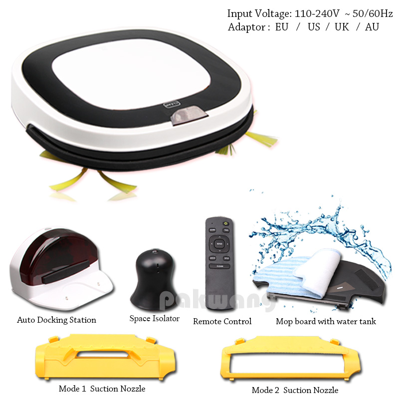 New Arrival Wet Mop Robot Vacuum Cleaner for Home with Water Tank, D5501 Robot Aspirador Washing Robot Vacuum Cleaner wet and dry robot vacuum cleaner auto charge big mop water tank intelligent washing vacuum cleaner d5501 cordless vacuum cleaner