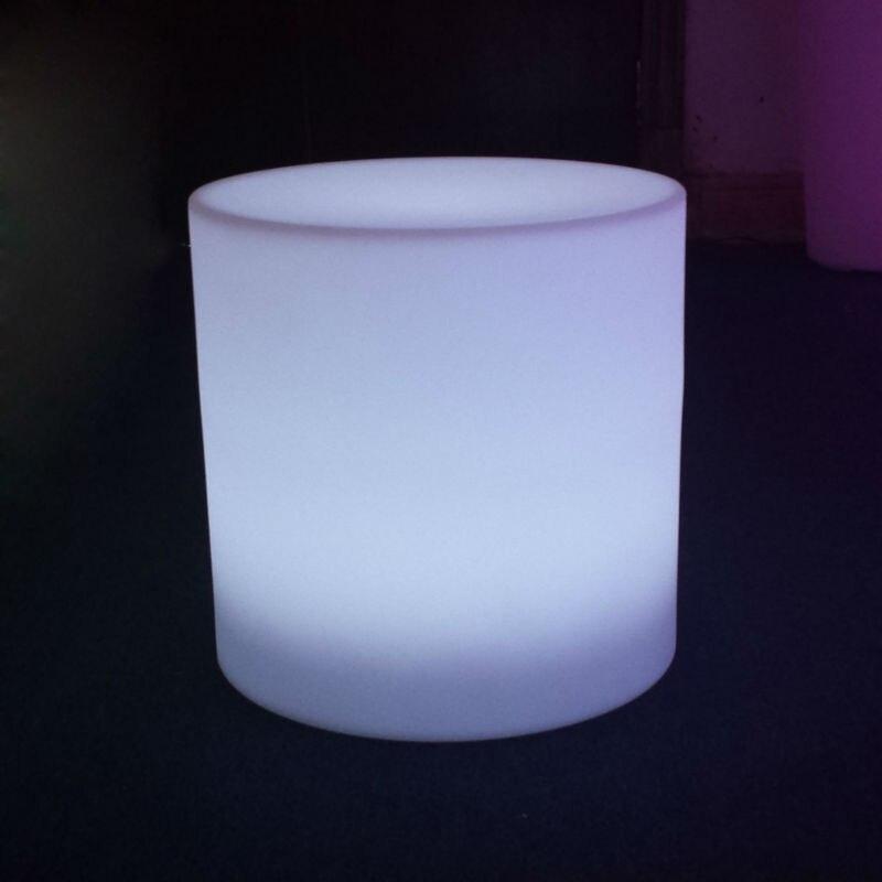 Lumineux садовый стул для наружной вечеринки/Led светящийся куб Led барный стул Fauteuil de jardin pour fete exterieure Бесплатная доставка 1 шт