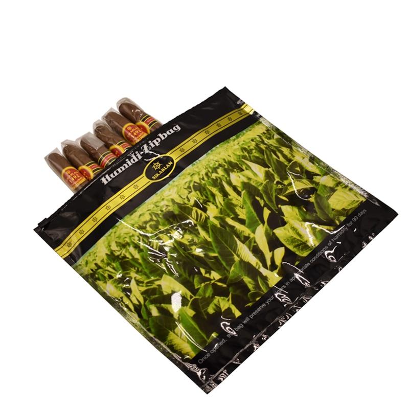 65%-75% Optimum Moisture Plastic Cigar Hydrating Bag Travel Carry Cigar Humidor Humidifier Bag Tobacco Moisturizing Humidity Bag
