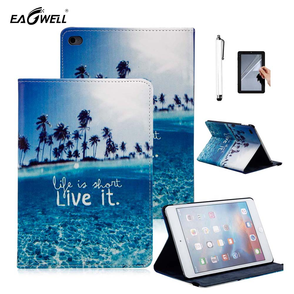 Fashion For Apple iPad Air 2 Case Tablet PC 9.7 inch Flip Stand PU Leather Butterfly Print Case For iPad Air 2 iPad 6 Cover Skin