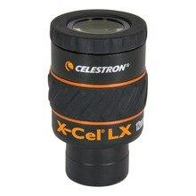 CELESTRON X CEL LX 12MM עינית 1.25 Inchwide זווית בהבחנה גבוהה גדול קליבר טלסקופ עינית אביזרי לא משקפת
