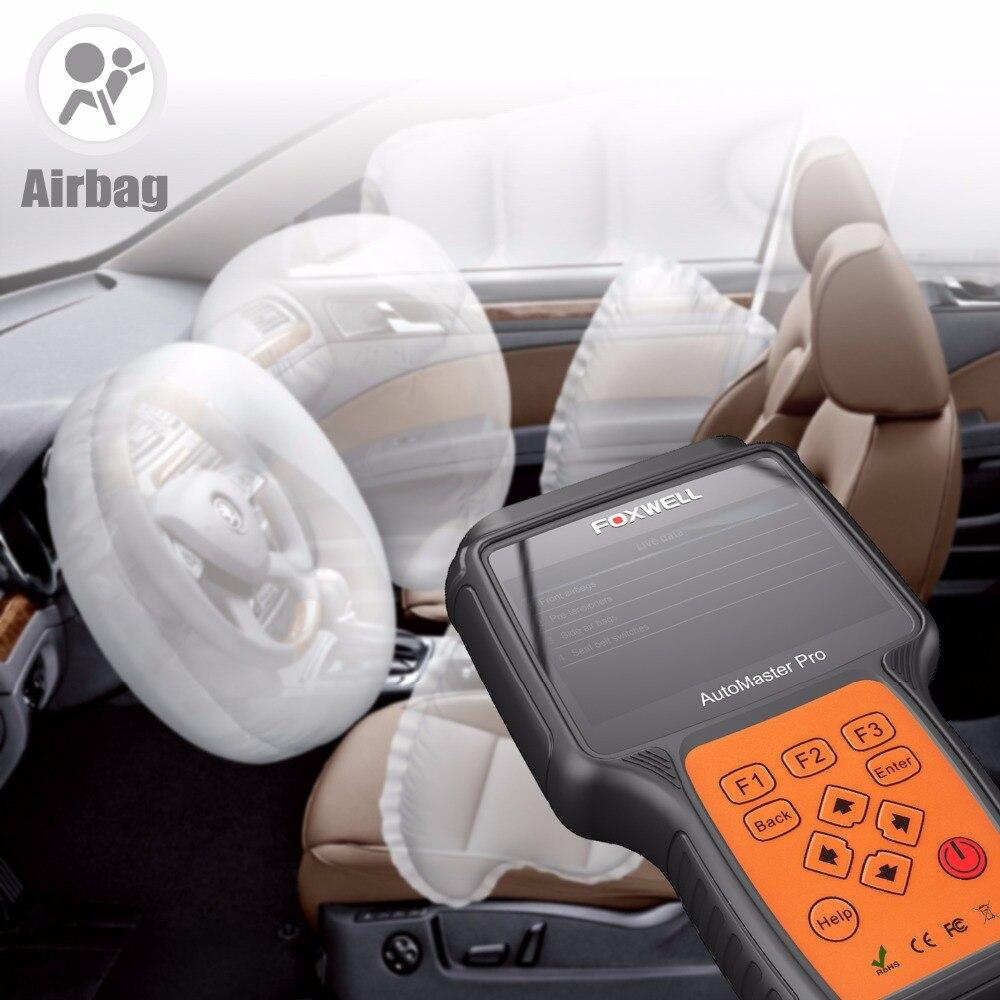 OBD Diagnose Werkzeug Scanner Foxwell NT614 Auto Vier Systeme Motor ABS SRS Airbag Übertragung Auto OBD2 Automotive Scanner