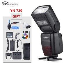 Yongnuo de litio Speedlite YN720 Flash con batería de 2000mAh para Canon, Nikon, Pentax,Compatible YN685 YN560 IV YN560 TX RF605