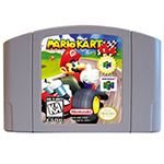 Marioed Kart 64 English Language For 64 Bit USA EU Version Video Game Cartridge Console