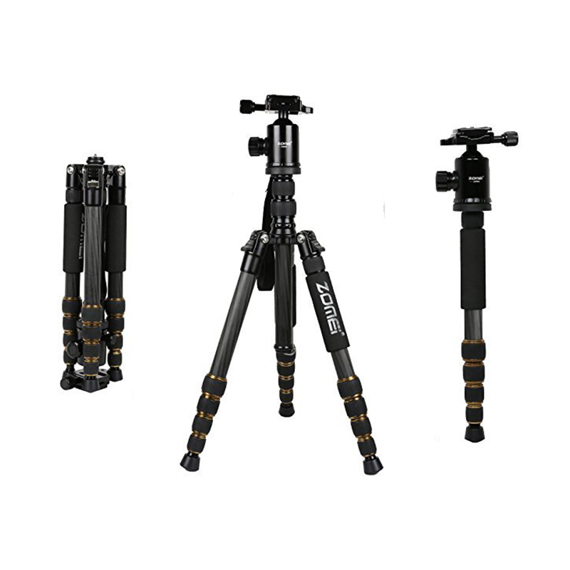 MAHA Tripod with Ball Head Compact for Canon Sony/Nikon/Samsung/Panasonic/Olympus/Fuji/Cameras and Video Camera Video Camera professional aluminum dslr camera movie making video cage with 15mm rod system for canon nikon sony pentax olympus panasonic