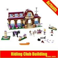 BELA 10562 Girls Friends Heartlake Riding Club Building Blocks 594Pcs Kids Model Bricks Toys Same Like