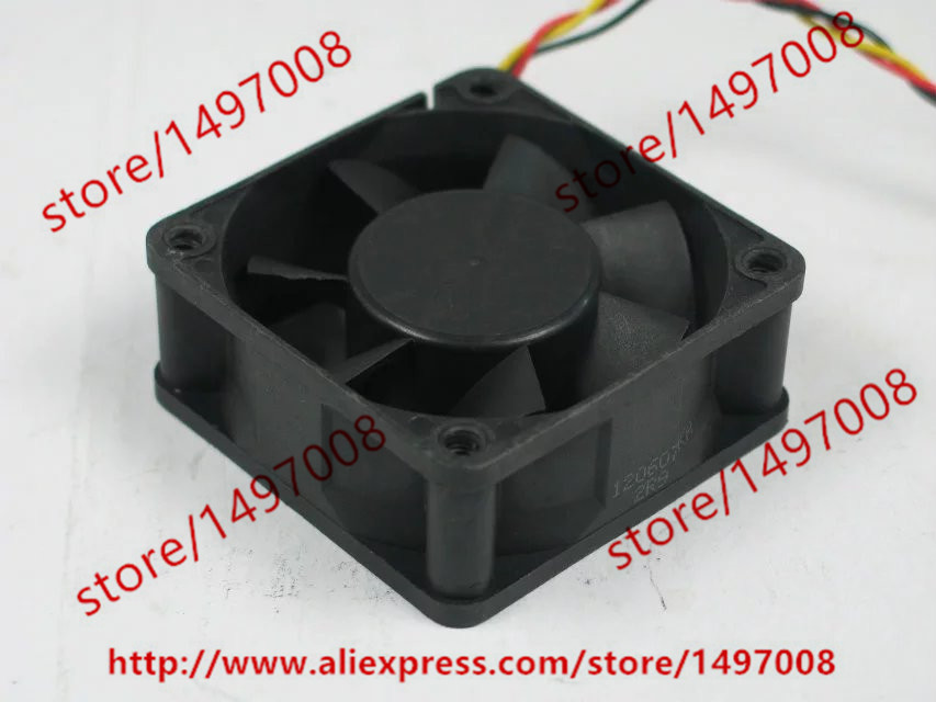 Free Shipping NYW06025012BSS DC 12V 0.42A 3-wire 3-pin connector 60mm 60x60x25mm Server Square Cooling Fan free shipping for delta afc0612db 9j10r dc 12v 0 45a 60x60x15mm 60mm 3 wire 3 pin connector server square fan