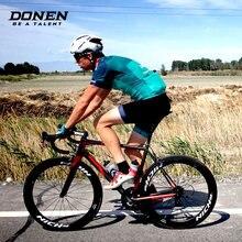 a38314cdb DONEN PRO Team jersey sets Men Summer cycling jersey bicycle jersey cycling  bib shorts bicycle bib