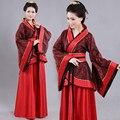2017 mulheres hmong traje chinês antigo roupas vestes hanfu trajes de dança tradicional bonita sobretudo feminino dress