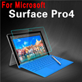 HD Clear Explosion-proof Tempered Glass for Microsoft Surface pro 4 Screen Protector Guard Film for Microsoft Surface pro 4 12.3