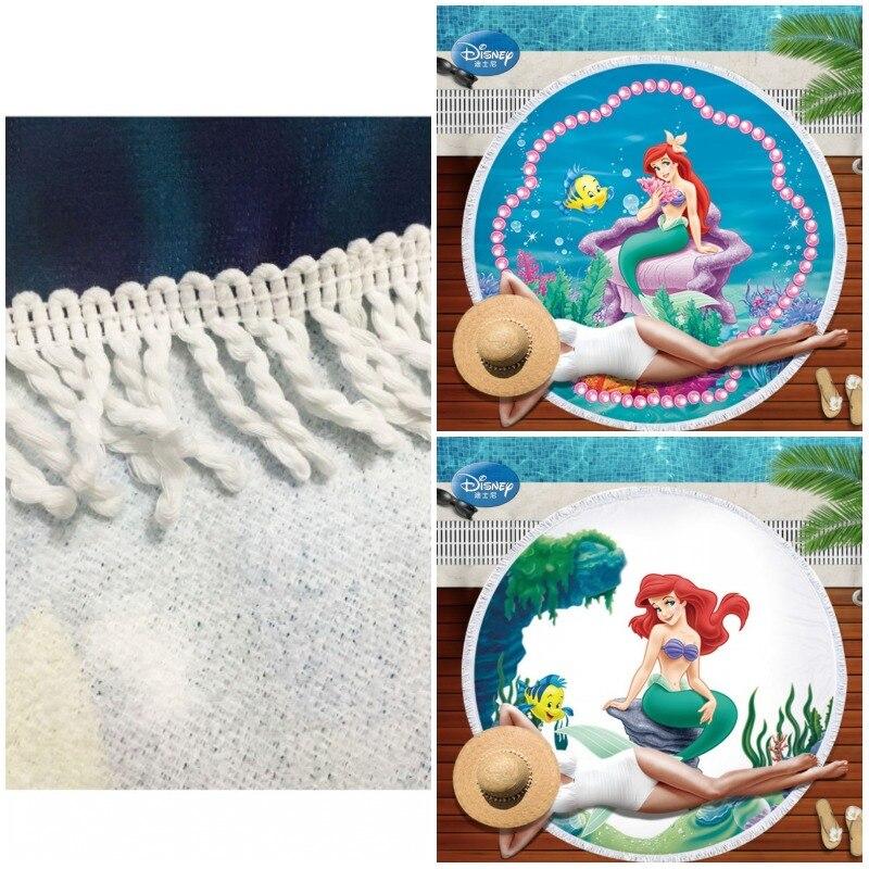 Hawaiian Beach Blanket: Round Beach Towel Blanket Hawaiian Tropical Large