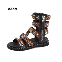 AAdct summer baby girls sandals new princess fashion little kids Gladiator sandals for girls Brand Rome children shoes