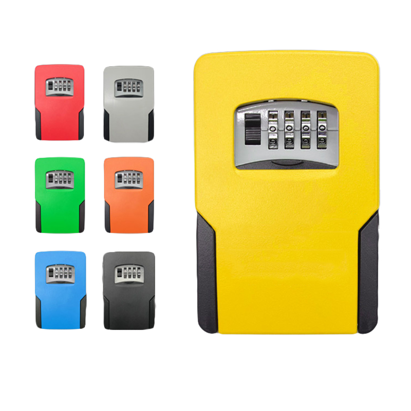 BIg Size Key Safe Box Password Lock Key Safes Big Space For Outdoor Company Office Home Wall-mounted Storage Box