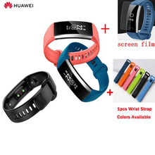 Originele Huawei Band 2 pro B29 B19 Polsband voor Monitor Fitness 50 m Zwemmen Waterdichte Bluetooth OLED band voor man vrouw
