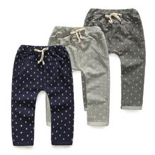 2016 Mid Harem Girls Bobo Choses Children Clothing Kids Hot Sell Boys Baby Child Long Trousers Casual Pants wj039