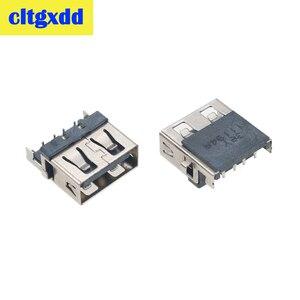 Image 2 - Cltgxdd connecteur de port pour ordinateur portable, pour Lenovo G570A G570AH E320 Samsung 3 HP G4 1000 G6 G7  1000 G62, 2 10 pièces, prise USB