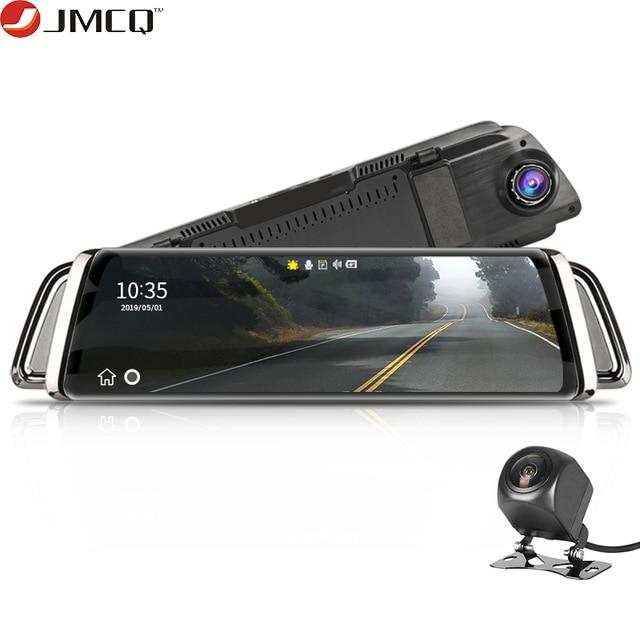 تيار مرآة الرؤية الخلفية جهاز تسجيل فيديو رقمي للسيارات داش كاميرا Avtoregistrator 10 IPS شاشة تعمل باللمس كامل HD 1080P جهاز تسجيل فيديو رقمي للسيارات داش كام للرؤية الليلية