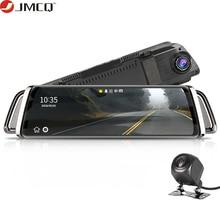 זרם אחורית מראה רכב Dvr דאש מצלמה Avtoregistrator 10 IPS מגע מסך מלא HD 1080P רכב Dvr דאש מצלמת ראיית לילה
