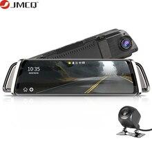 Flux rétroviseur voiture Dvr tableau de bord caméra avtoenregistrateur 10 IPS écran tactile Full HD 1080P voiture Dvr tableau de bord caméra Vision nocturne