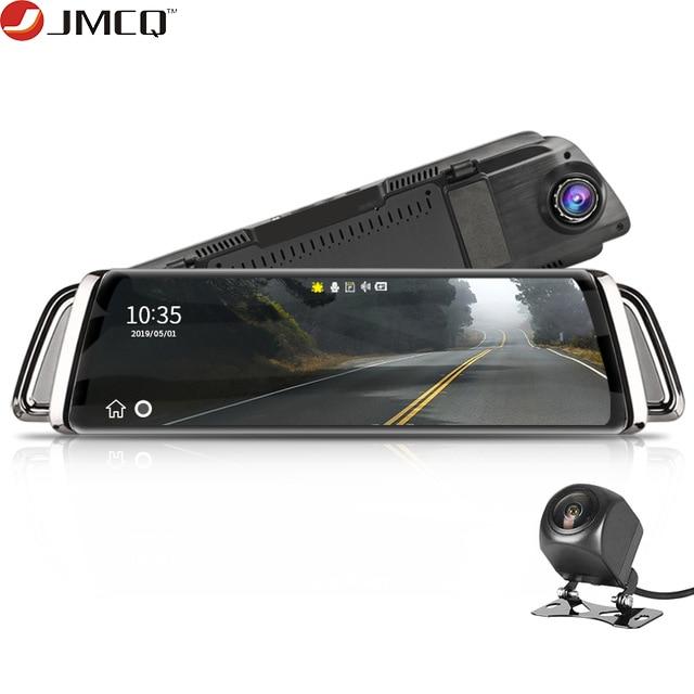 Stream Rear View Mirror Car Dvr Dash Camera Avtoregistrator 10 IPS Touch Screen Full HD 1080P Car Dvr Dash Cam Night Vision-in DVR/Dash Camera from Automobiles & Motorcycles