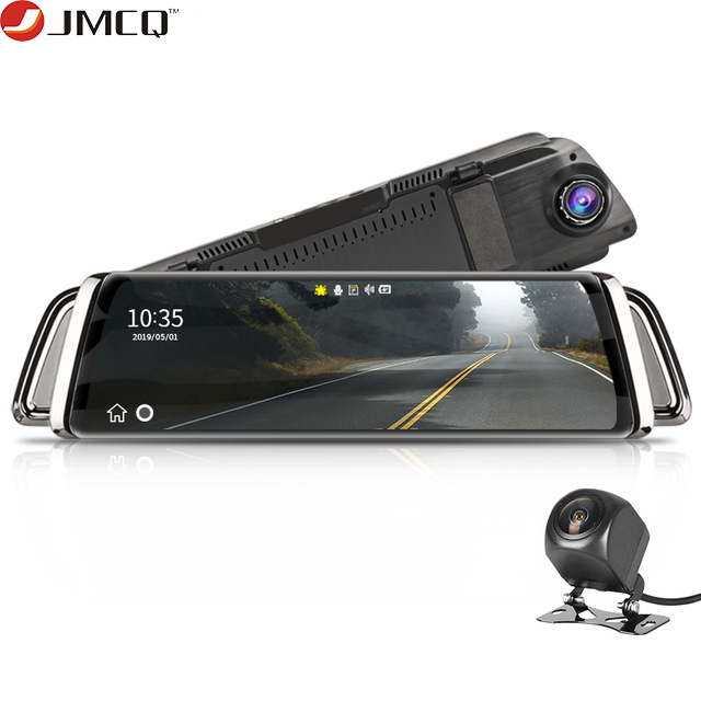 Stream Rear View Mirror Car Dvr Dash Camera Avtoregistrator 10 IPS Touch Screen Full HD 1080P Car Dvr Dash Cam Night Vision