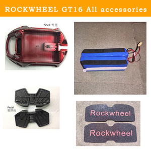 ROCKWHEEL GT16 Electric unicycle accessories,shell,Controller,motherboard,motor,battery,Switch, charging port,handlebar,Mudguard