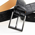 2016 Fashion Pin Buckle Genuine Leather Men Belts Luxury For Men Men's Luxury Brand Fashion Leather Belt