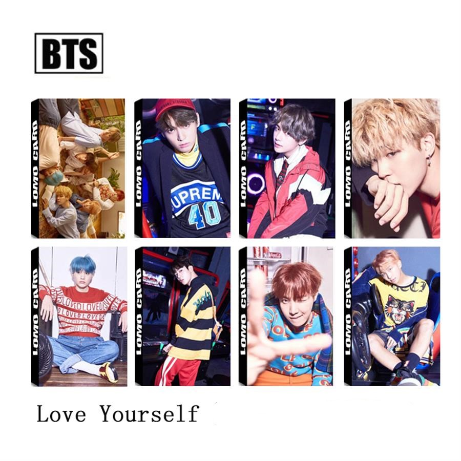 Alert Kpop Bts Love Yourself Lomo Cards Jungkook V Jimin Paper Photocard Photo Card 30pcs/box As Effectively As A Fairy Does Beads & Jewelry Making Jewelry & Accessories