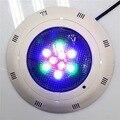 Поверхностного монтажа LED RGB 9 Вт AC/DC плавательный бассейн свет подводный свет фонтан Пруд Лампа с пультом дистанционного управления Бесплат...