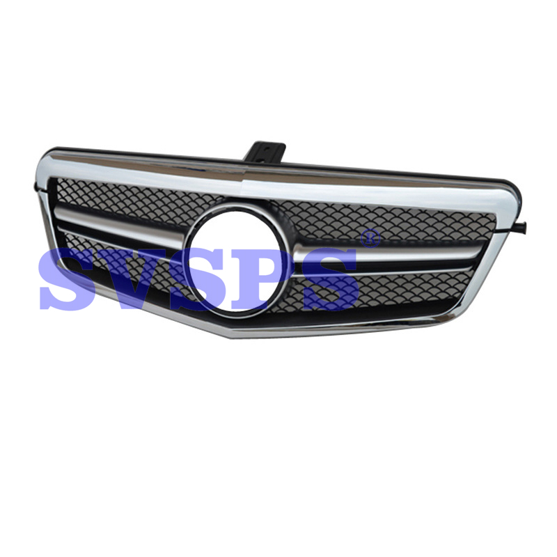 High Quality ABS Front Middle <font><b>Grille</b></font> For <font><b>Mercedes</b></font> Benz E-Class <font><b>W212</b></font> AMG 2010-2013 image