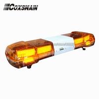 LED emergency warning lightbar with 100W siren & speaker, DC12V, 48inch, Car Truck Amber LED Alarm Lamp (TBD GA 01322P_