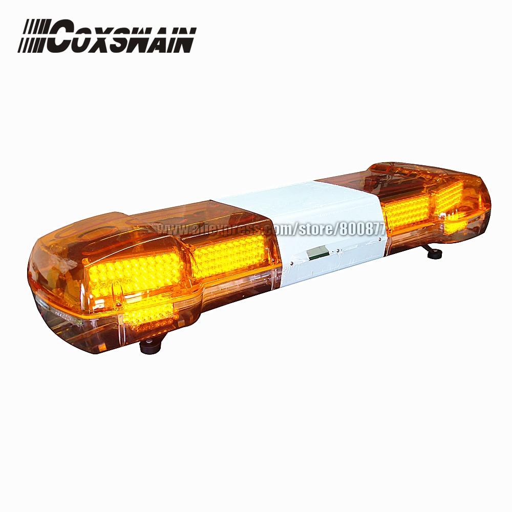 LED emergency warning lightbar with 100W siren & speaker, DC12V, 48inch, Car Truck Amber LED Alarm Lamp (TBD-GA-01322P_ радиоприемник goldstar ga 15fmdu black amber