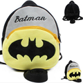 Children Backpacks For Baby Boy Strap Bag Lovely Batman Baby Harness Kids Keeper Anti-lost Bag Walking Wings 0-3years Kids Bags