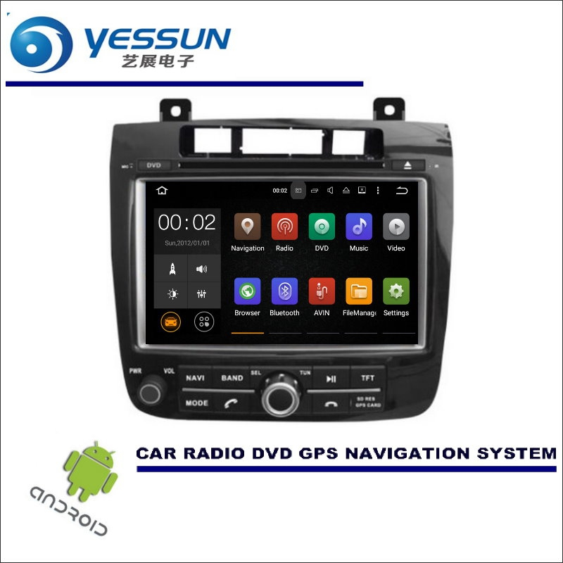 yessun car multimedia navigation for volkswagen vw touareg. Black Bedroom Furniture Sets. Home Design Ideas