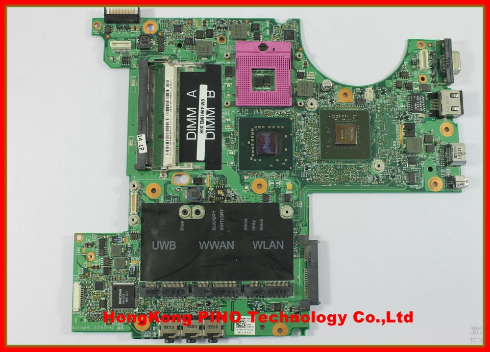 M1530 MOTHERBOARD For DELL M1530 laptop motherboard X852D X583D system board 48.4W101.02M