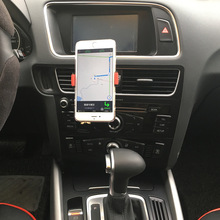 Mobile phone stents Automatic lock Universal Mini Car Air Outlet Holder navigation out Stents Vent Mount Support For Cell Phone
