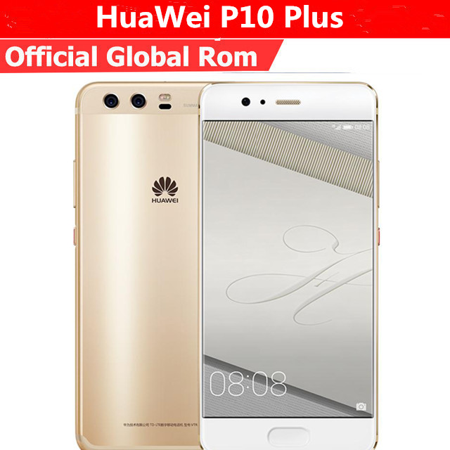 eaf4d9808886c Global Firmware Huawei P10 PLUS 6G 256GB Full 4G LTE Band Smartphone Octa  Core 2.4GHz 5.5