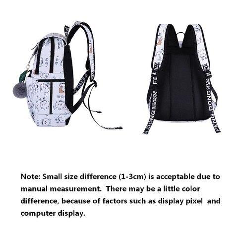 Girl Backpacks Waterproof USB Charging student  laptop school bags  bags Women fashion traveling backpack mochilas para jovenes Lahore
