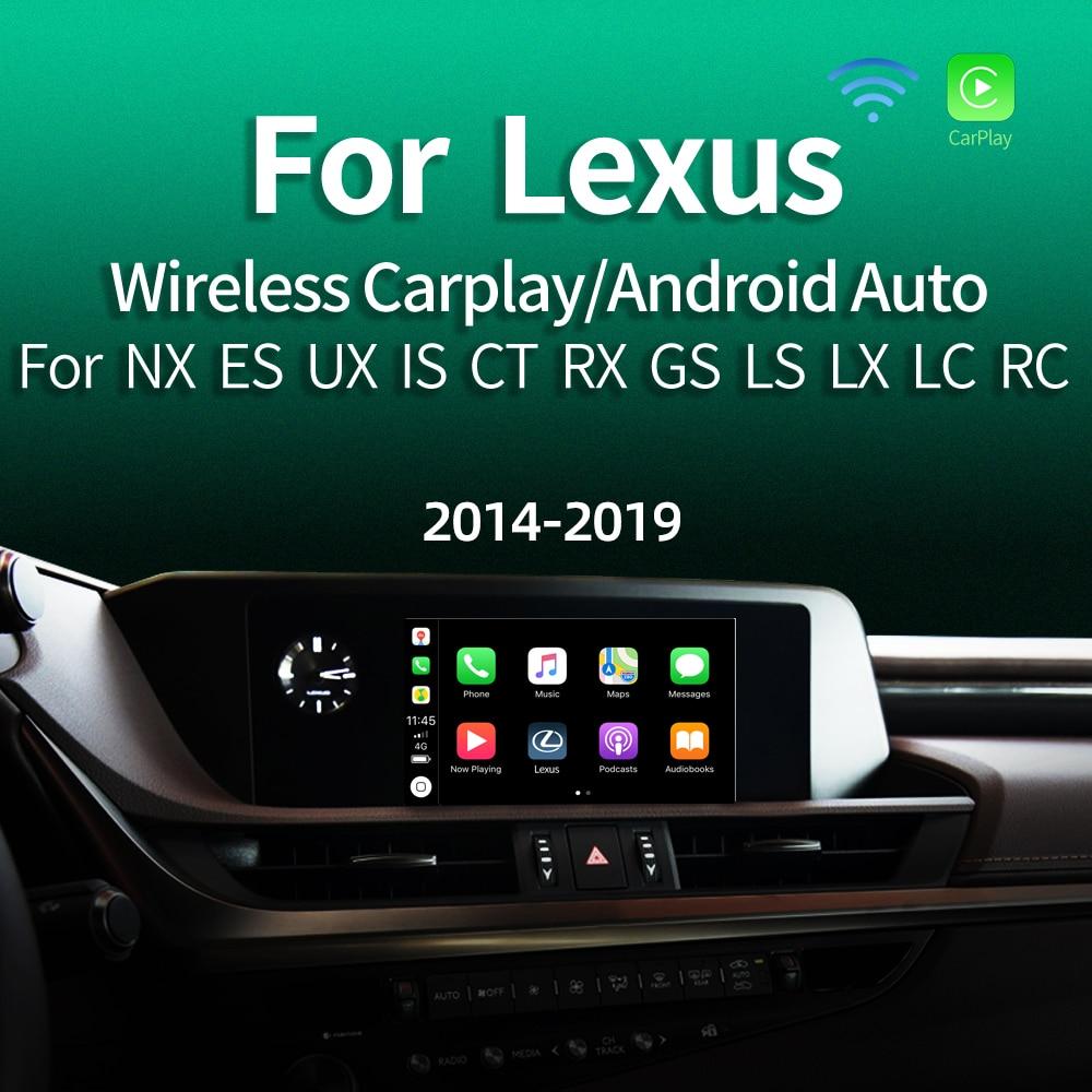 2019 Android Auto IOS Car Apple Airplay Wireless CarPlay Box For