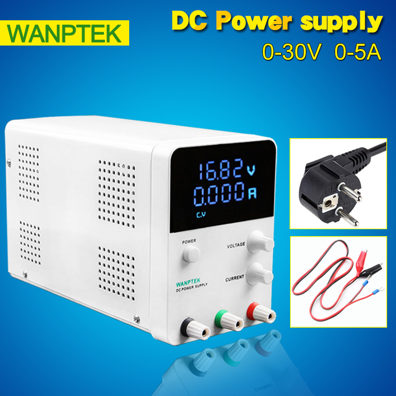 Professional switching DC power supply Adjustable laboratory Power Supply 220V Digital voltage regulator 0.01V 0.001A 30V 5A rps3020d 2 digital dc power adjustable power 30v 20a power supply linear power notebook maintenance